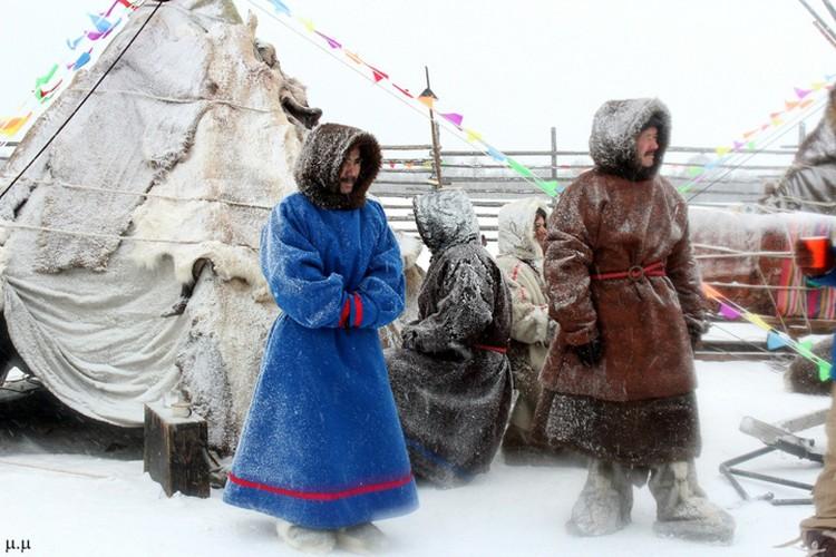В Ловозере воссоздали поселение ненцев. Благо их культура схожа с сааамской. Фото: Мария Демидова