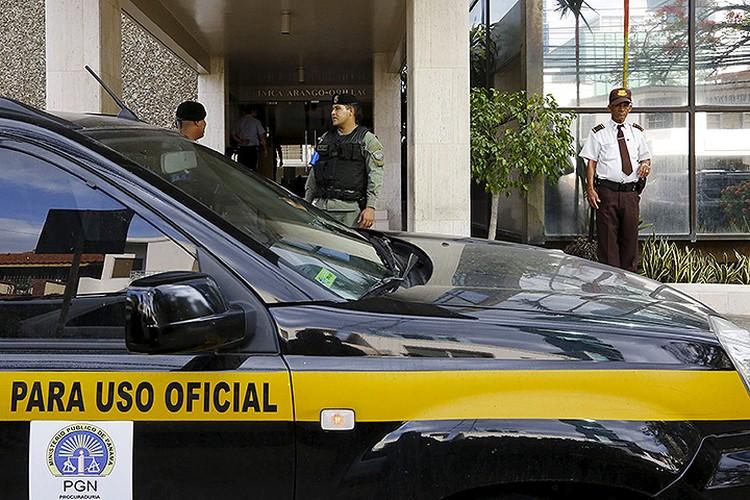 Обыски в помещении панамской компании «Mossack Fonseca».