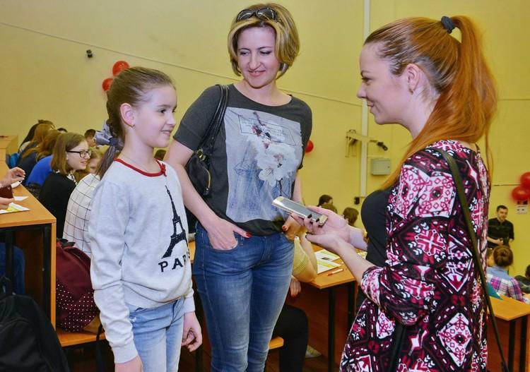 """Саша Дермилева, ставшая героиней публикации """"КП"""" получила специальный приз газеты."""