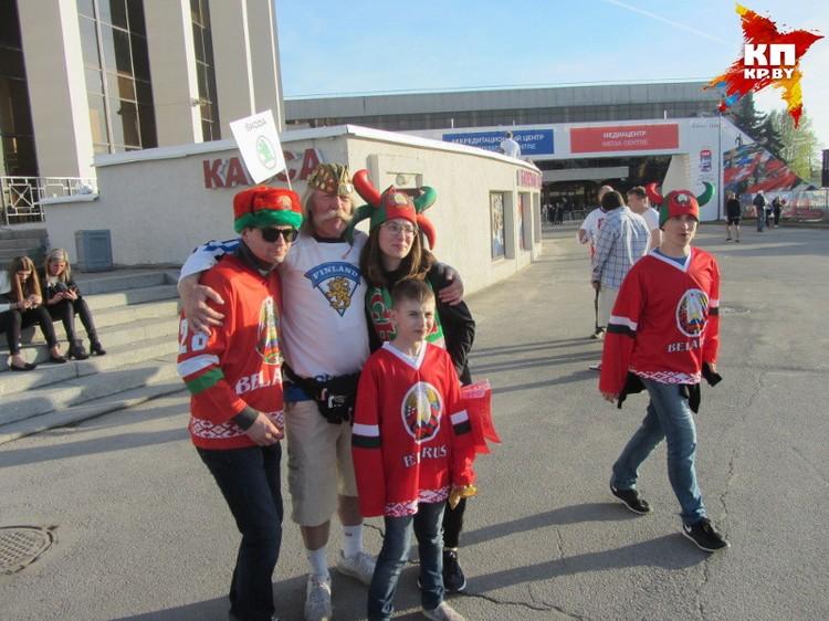 Белорусы надеются, что наши попадут в плей-офф