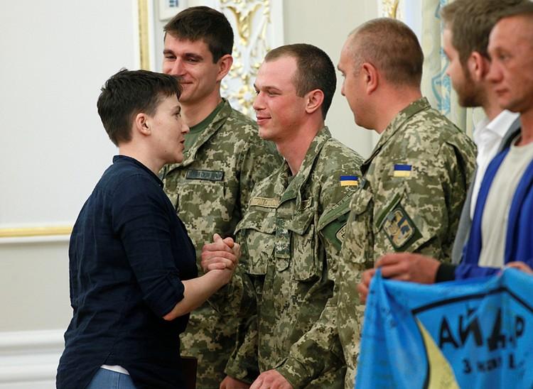 Громадье своих планов Савченко не скрывала