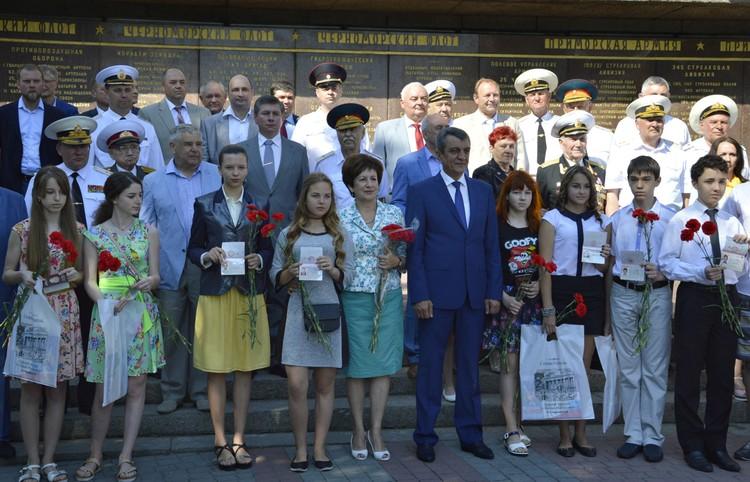 Фото пресс-служба правительства Севастополя.