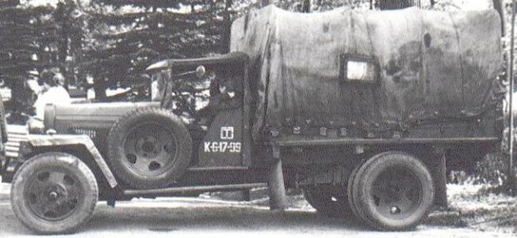Операторская полуторка (ГАЗ-ММ) Коломбина
