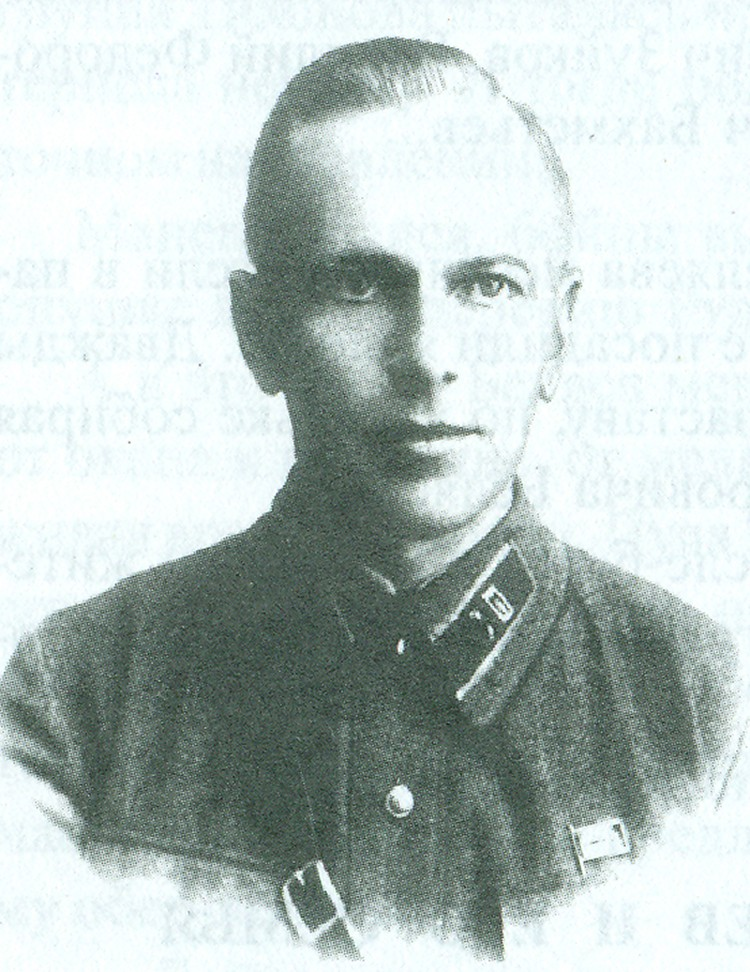 Начальник штаба отряда Курявцев