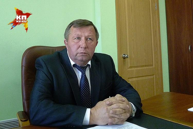 Глава Опаринского района Леонид Ершов.