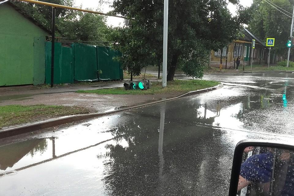фото последствия дождя уфа ежедневно рождалось