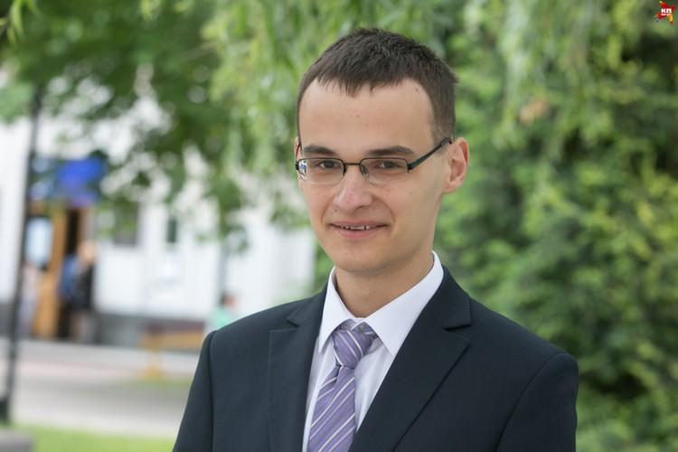 С факультетом Влад определился в конце десятого класса: факультет прикладной математики и информатики БГУ.