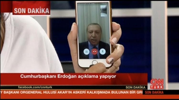 После захвата власти военными, президент обратился к народу по Skype
