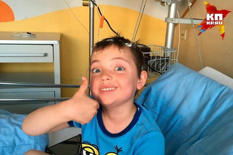 Аня в больнице