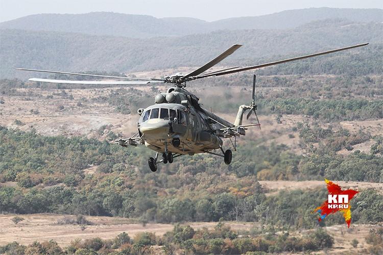 Вертолет Ми-8АМТШ.