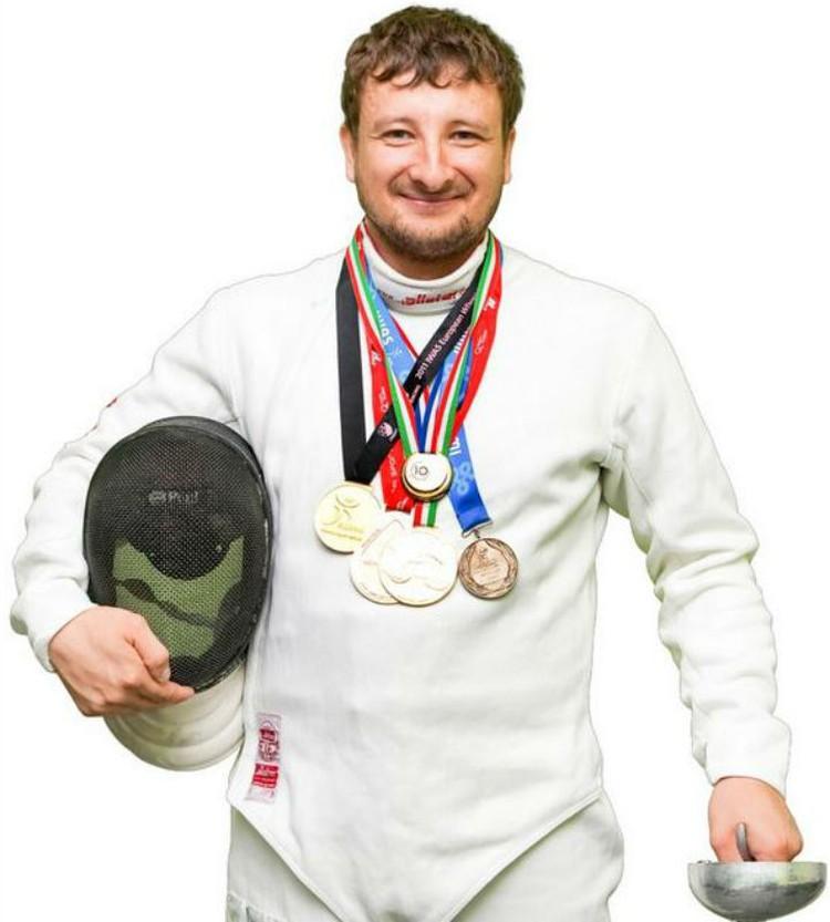 Артур Юсупов. Фото: пресс-служба минспорта Омской области