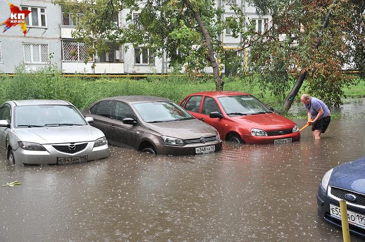 Сегодняшний потоп точно войдет в историю Москвы
