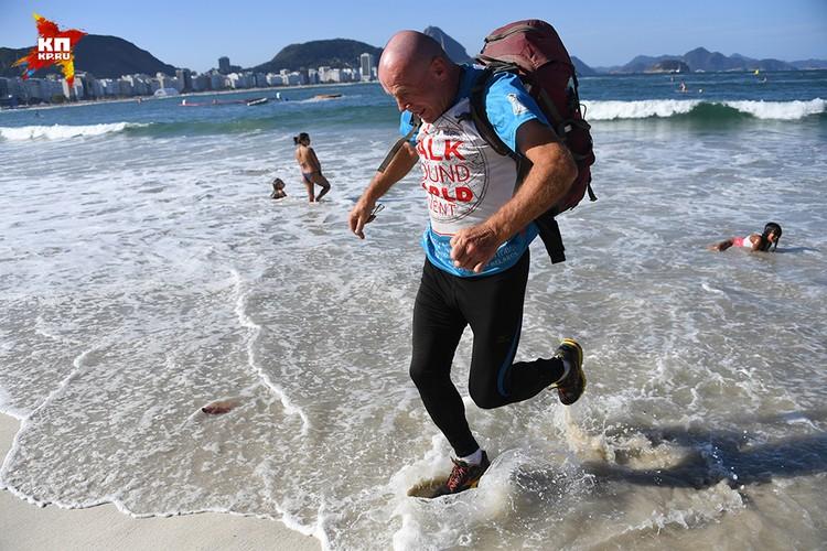 Несколько дней Сергей еще проведет в Рио