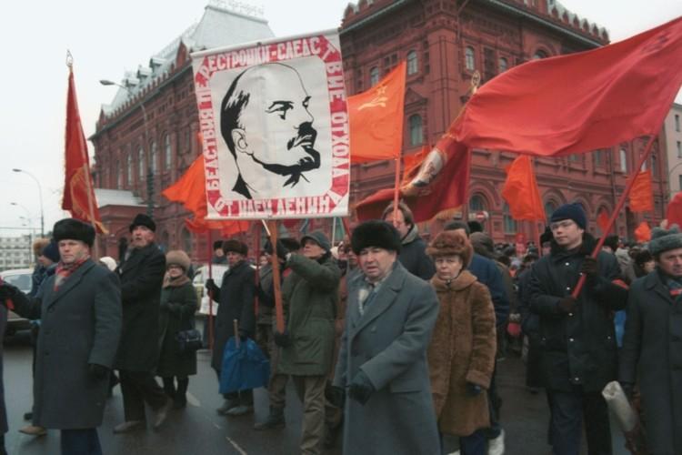 Митинг против развала Союза. Москва, 1991 г. Фото Игоря Зотина /Фотохроника ТАСС/