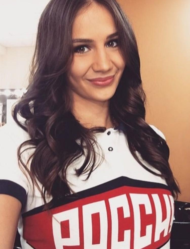 Катя Ильина очень любит улыбаться. Фото из Инстаграма спортсменки.