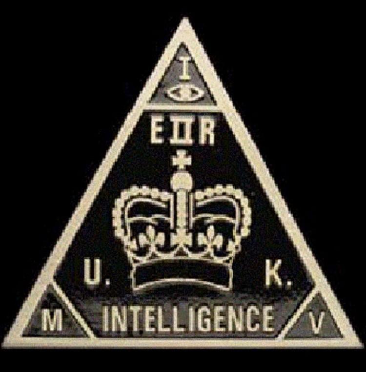 Эмблема британской секретной службы МИ-5