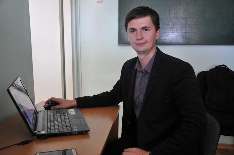 Александр Столяров создал очень важное для здоровье людей приложение.