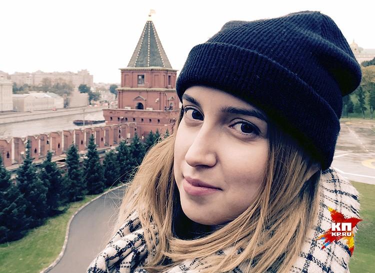 """Лиза Совцова, видеооператор сайта """"КП""""."""