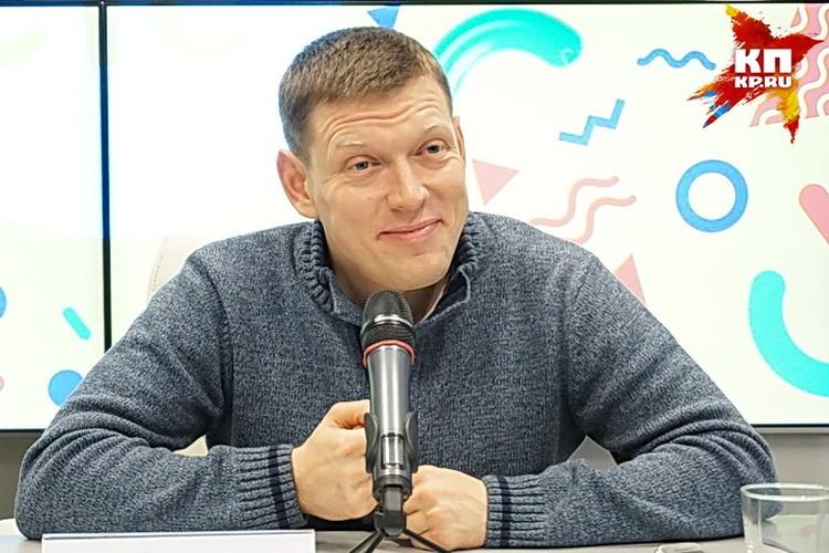 Сергей Лавыгин в Воронеже.