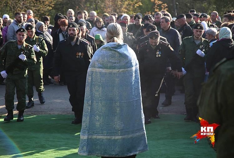 Моторолу похоронили на кладбище Ленинского района Донецка.