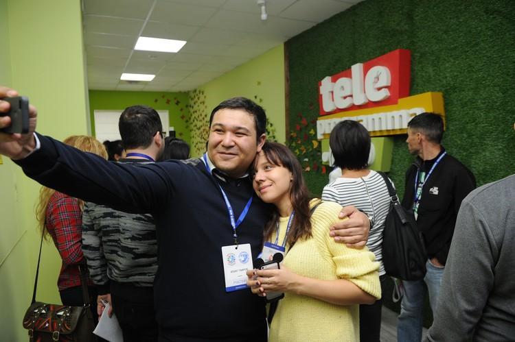 Селфи в редакции Teleprogramma.pro