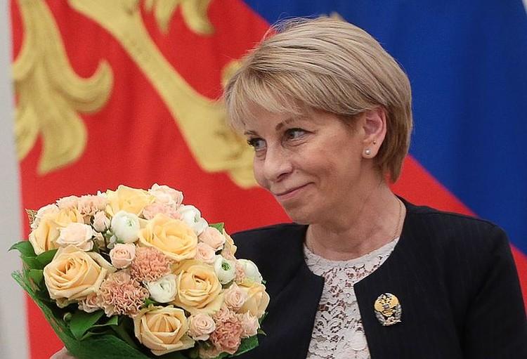 Глава благотворительного фонда «Справедливая помощь» Елизавета Глинка. Фото: Михаил Метцель/ТАСС