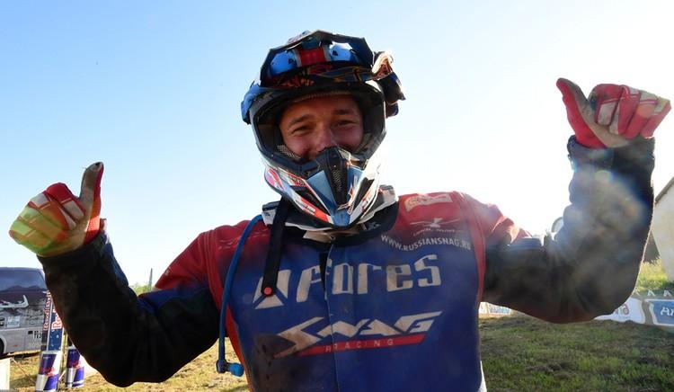 Сергей Карякин, победил в зачете квадроциклов