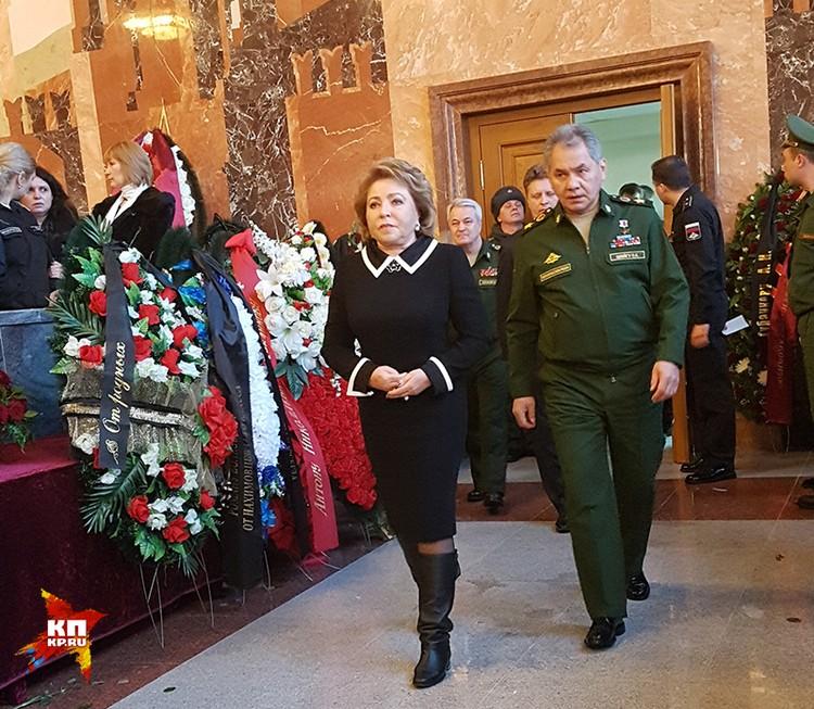 Валентина Матвеенко и Сергей Шойгу