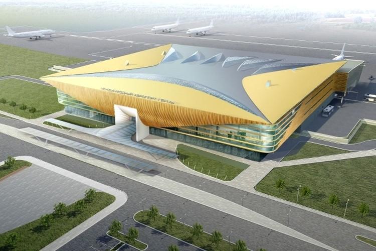 Так будет выглядеть будущий пассажирский терминал аэровокзала.