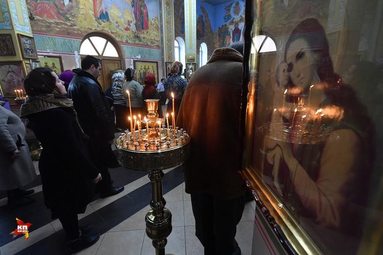 Храм Михаила Архангела в Грозном в 2017