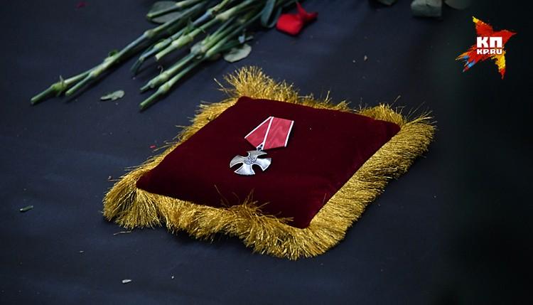 Этой наградой президент удостоил Виталия Чуркина уже посмертно