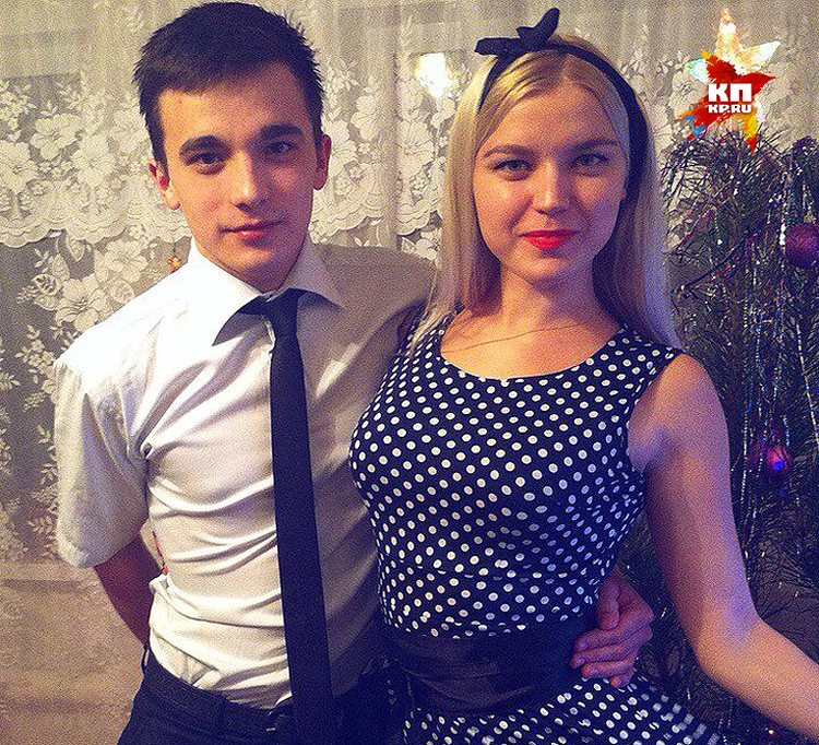 Сергей Семенов со старшей сестрой Екатериной.
