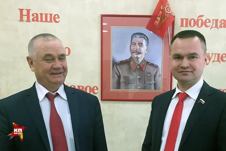 Иван Иванович Казанков и Сергей Казанков.