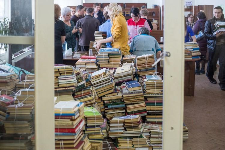 Фонд юношеского абонемента – 45 тысяч томов.