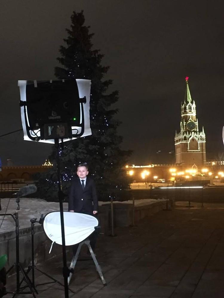 Поздравление с Новым годом россиян. Фото: предоставлено Еленой Маркозашвили