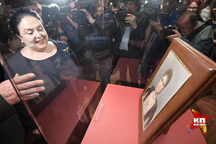 Выставку посетила Глава Императорского дома Великая княгиня Мария Владимировна.