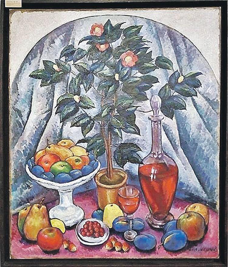 Натюрморт, приписываемый Илье Машкову. Фото: rostmuseum.ru