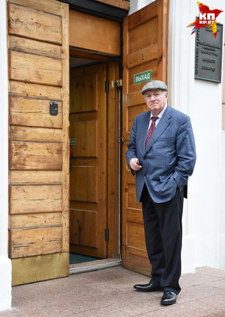 """Маэстро говорит, что у него нет отпуска: """"Санатории не люблю, за границу не езжу. Я люблю Беларусь - здесь мой мир""""."""