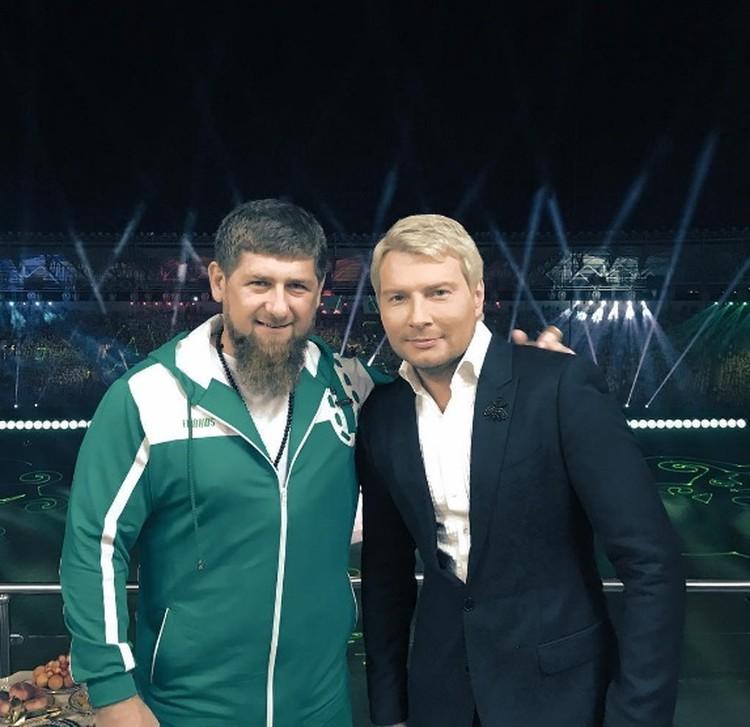 Рамзан Кадыров и Николай Басков. Фото: Instagram