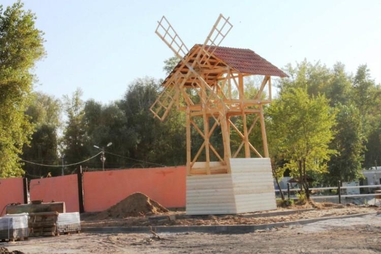 Где хлеб, там и без мельницы никуда. Фото: администрация Марксовского района