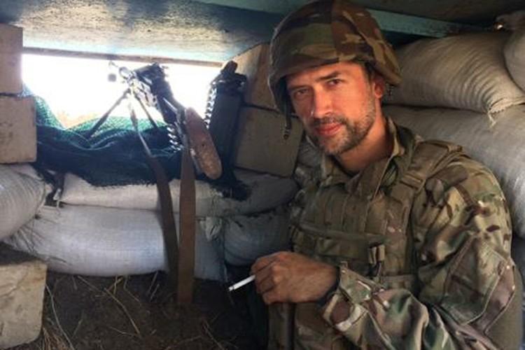 Российский актер Анатолий Пашин стал добровольцем украинской армии на Донбассе
