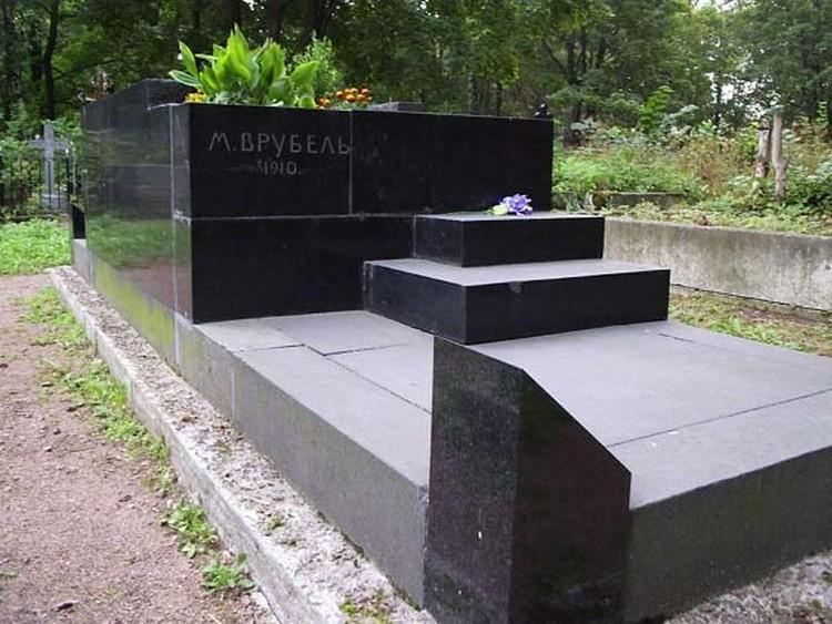 Так сейчас выглядит могила великого художника (фото: planeta.ru)