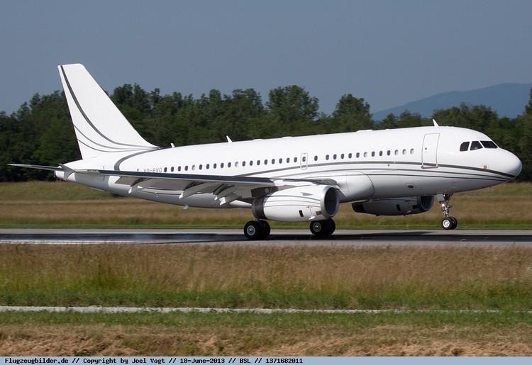 Снаружи самолет Кадырова выглядит вполне обычно. Фото: Joel Vogt, planepictures.net.