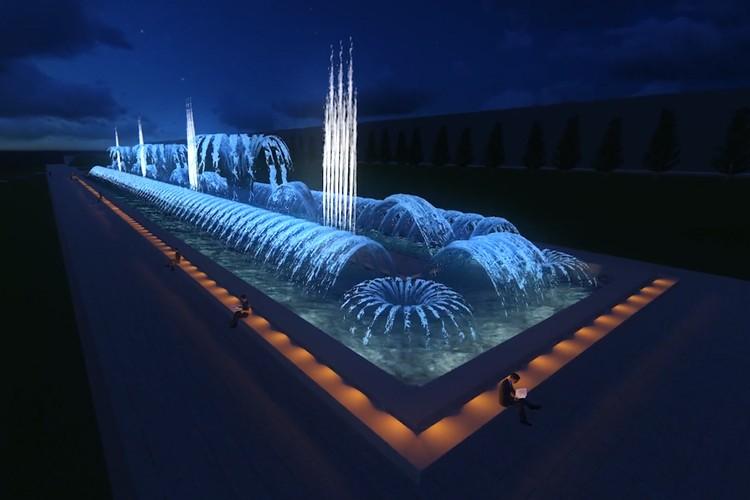 По ночам фонтан будет светиться и танцевать. Фото: музей-заповедник «Сталинградская битва»