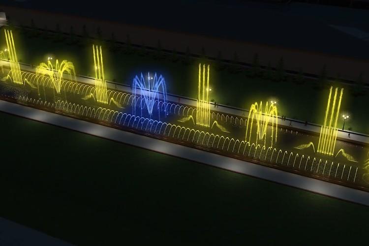По проекту струи фонтана будут бить по разным программам на высоту до 40 метров. Фото: музей-заповедник «Сталинградская битва»