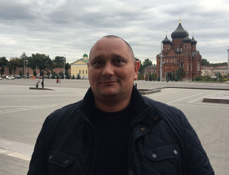 Начальник главного управления по Привокзальному территориальному округу Евгений Пятисоцков