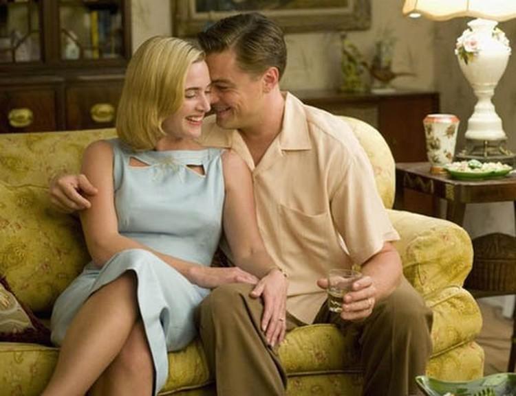 """С Леонардо Ди Каприо в фильме """"Дорога перемен"""". После этой картины Кейт рассталась с мужем, режиссером Сэмом Мендесом."""