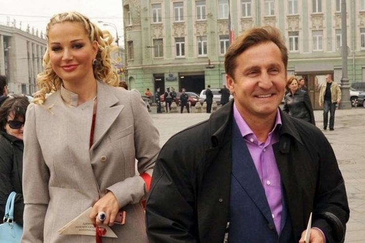 Мария Максакова с бывшим гражданским мужем Владимиром.