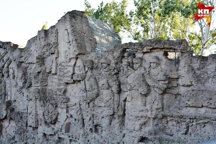 Стены-руины озвучивал Левитан.