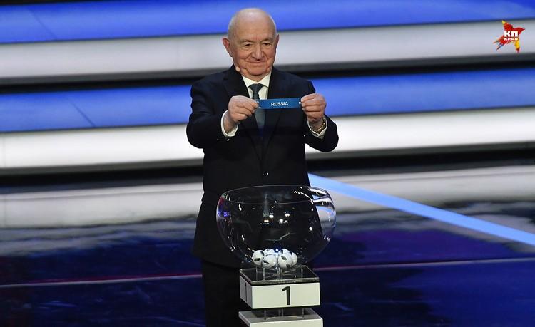 В результате жеребьевки стало известно, с кем Россия на Чемпионате мира по футболу